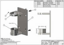 316 Stainless Fascia Bracket