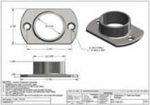 316 Stainless Narrow Base Flange