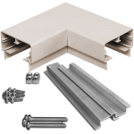 90deg Rectangular Top Rail Corner Kit