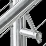 Round Stainless Steel Handrails