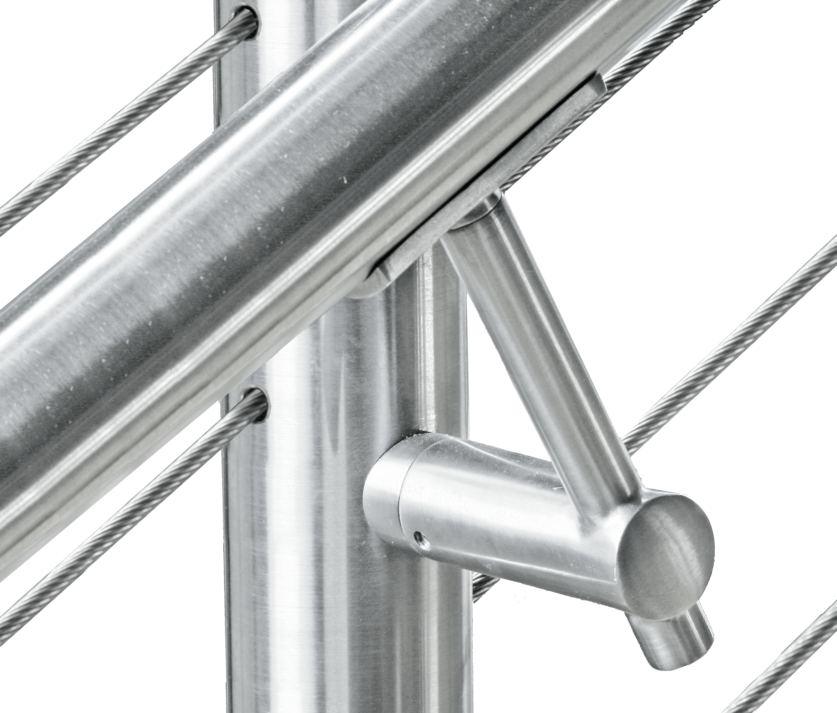 Handrail To Post Connector Bracket Cable Railing Direct
