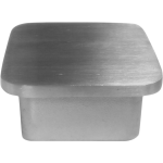 Post cap for stainless steel square terminal posts.