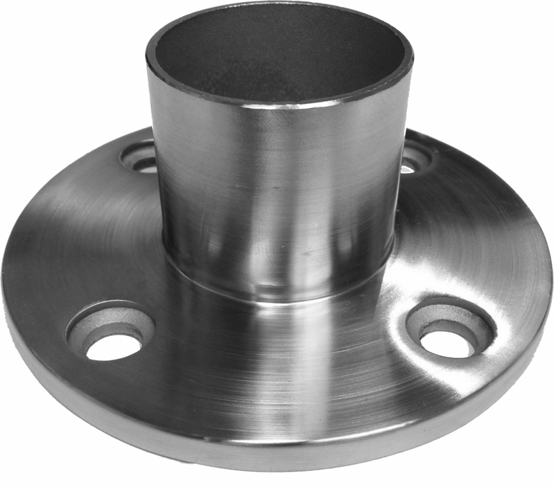 In flange tall for intermediate posts cable railing direct