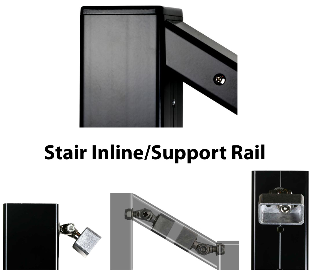 20 Aluminum Stick For Toprail Support Handrail Post To