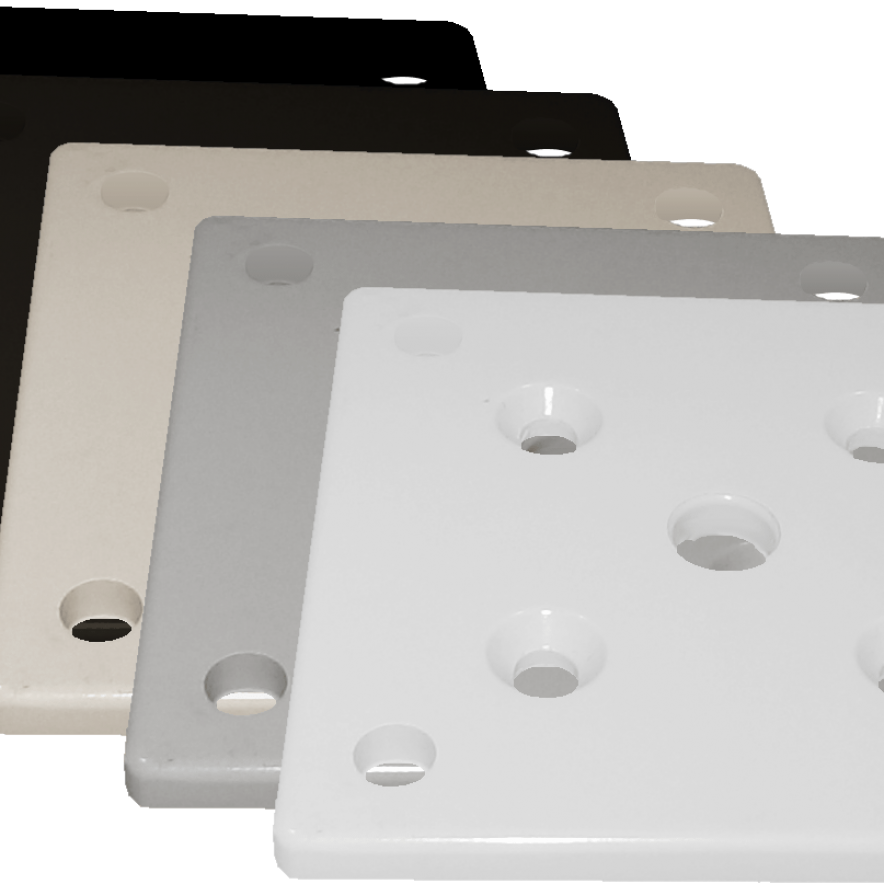 Base-Plates-in-5-Colors-for-Aluminum
