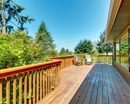 Modern Deck Rails Glass Vs Cable Cable Railing Direct